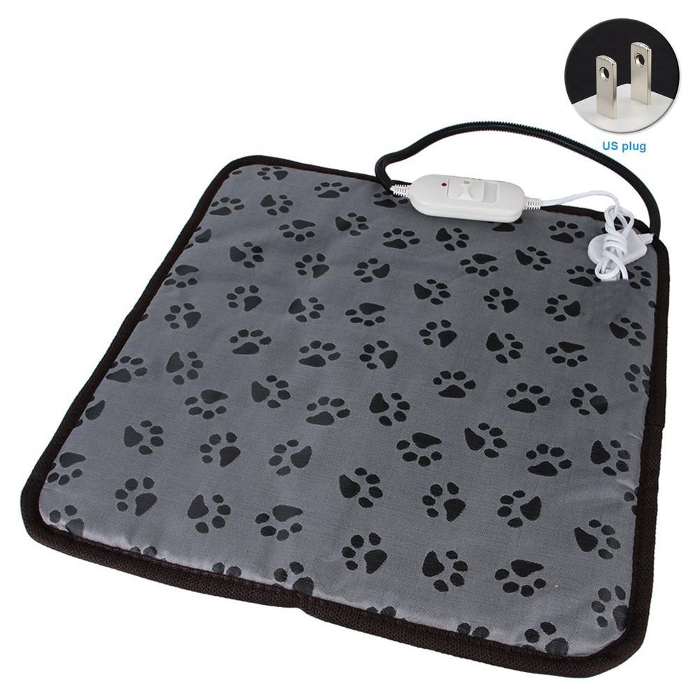 Katze Haustier Hund Heizkissen Heizdecke Bed Fußabdruck Einstellbare Temperatur