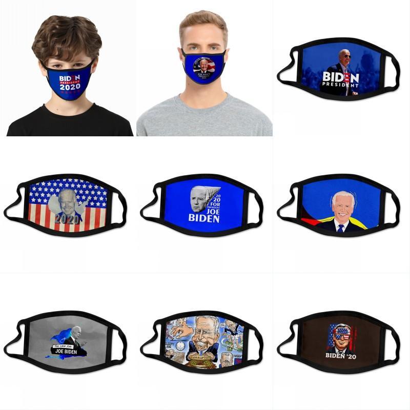 Maschere Maschere Biden cotone degli Stati Uniti Joe Biden presidenziale panno Campagna elettorale Biden riutilizzabile lavabile, Viso, Bocca Maschere OWB1206
