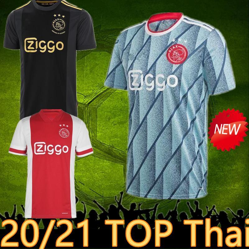 2020 2021 Ajax Jersey 3rd Home Away Ajax 2020 Soccer Jersey Van De Beek Neres Ajax Black Jersey Shirt Tadic Dolberg Ziyec Football Uniform From Jaylue 13 94 Dhgate Com