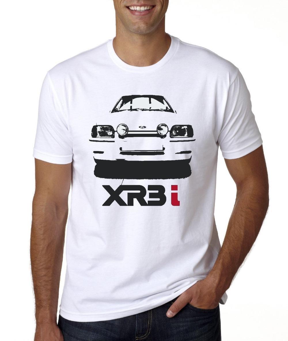 New American Classic Car Escort XR3i 2020 neue Art und Weise Marke Tops Männer-T-Shirt Männer-Entwurfs-T-Shirt
