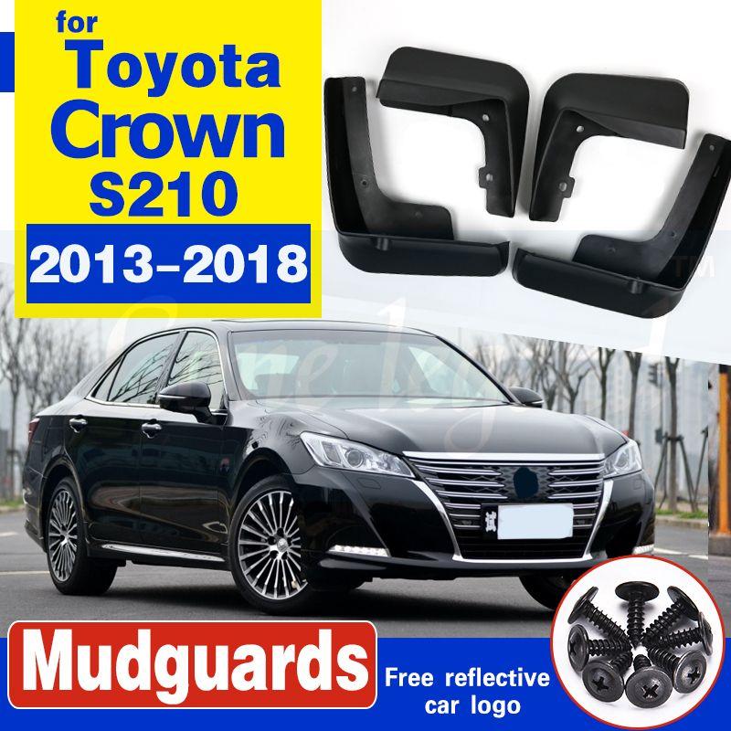 Auto-Schmutzfänger für Toyota Crown S210 2013 ~ 2018 Fender Mud Flaps Guard Spritz Flap Radschützer Zubehör 2014 2015 2016 2017 14.