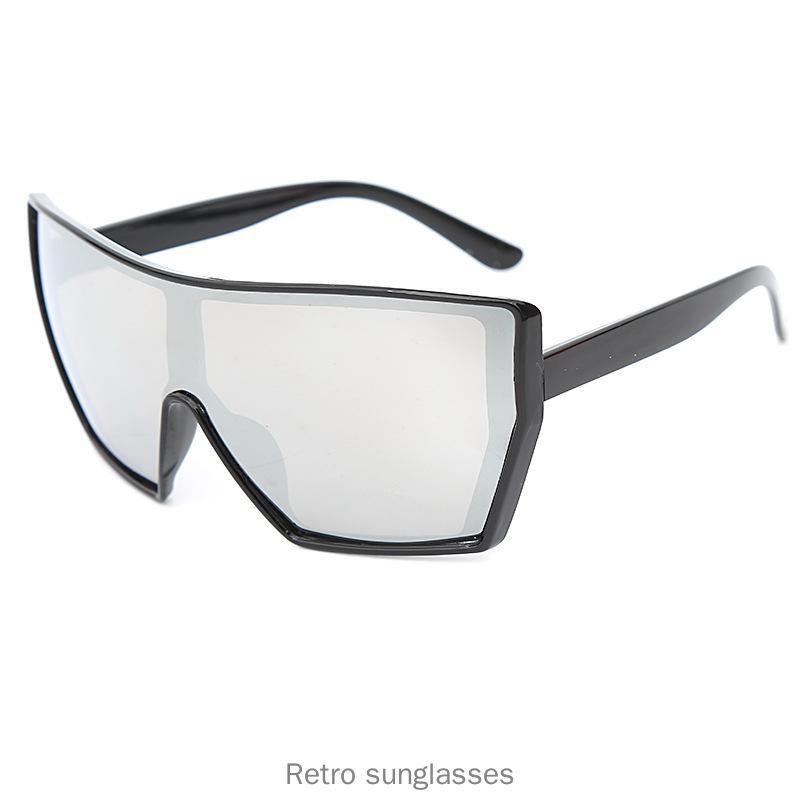 Gafas Sol cuadrado de mujer de marca Diseñador leoaprd lente clara anteojos de moda hombre con gafas de caja de FML