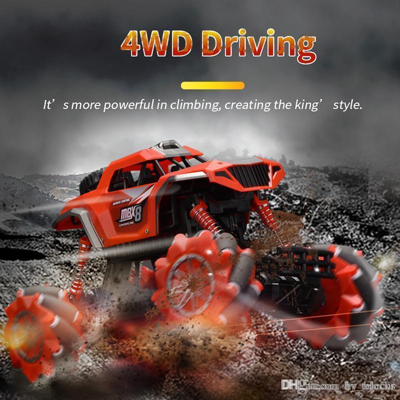 01:16 rc voiture 4 roues motrices voiture électrique de contrôle à distance 2.4G hors jouet camion monstre véhicule d'escalade de route pour garçons enfants cadeaux 06
