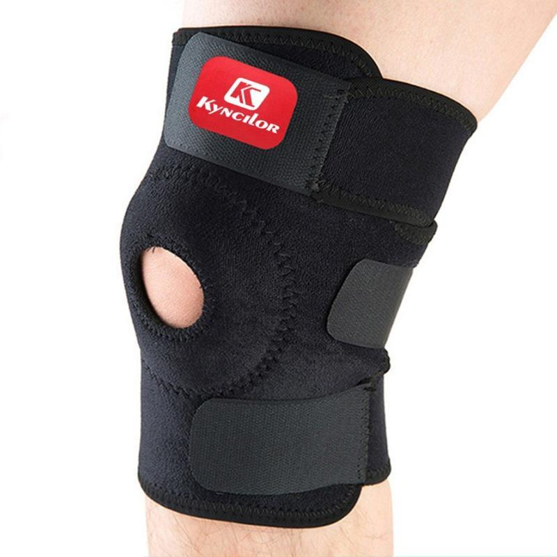 1PC Knee Support Brace Kneepad Joint Brace Support Adjustable Breathable Knee Stabilizer Kneepad Strap Patella Arthritic Guard