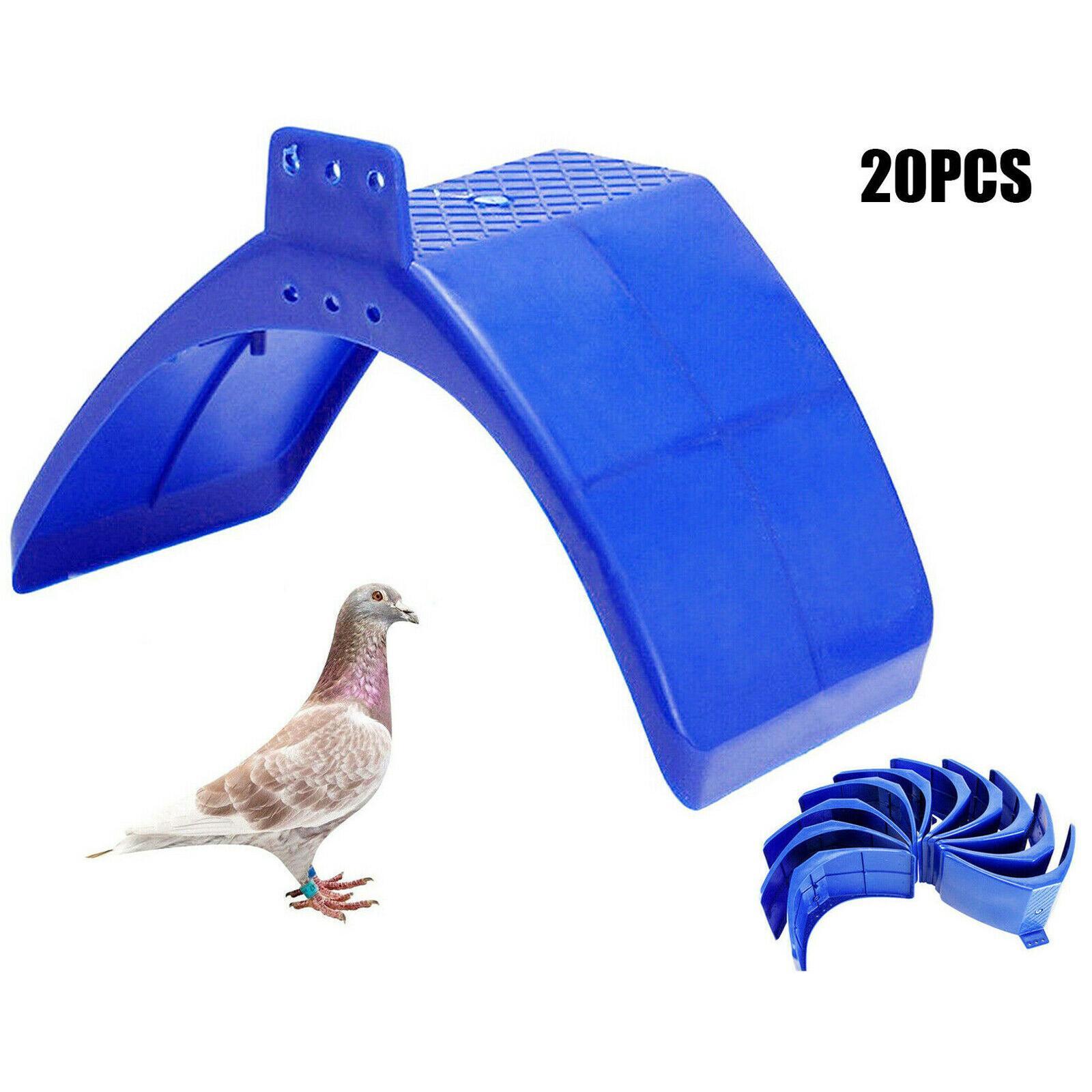 20x piccione Colomba Resto stand Telaio abitazione accessori per la montatura uccelli posatoi Roost Set