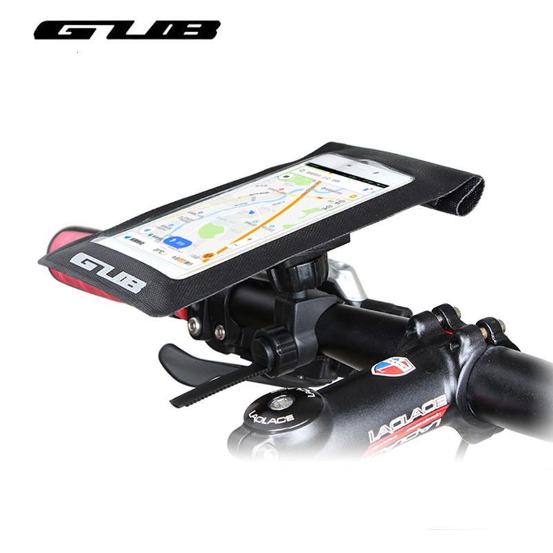 GUB 3Colors Téléphone vélo Sac étanche VTT Vélo de route Guidon avant Head Tube Sac à écran tactile Mobile Smartphone 6 pouces