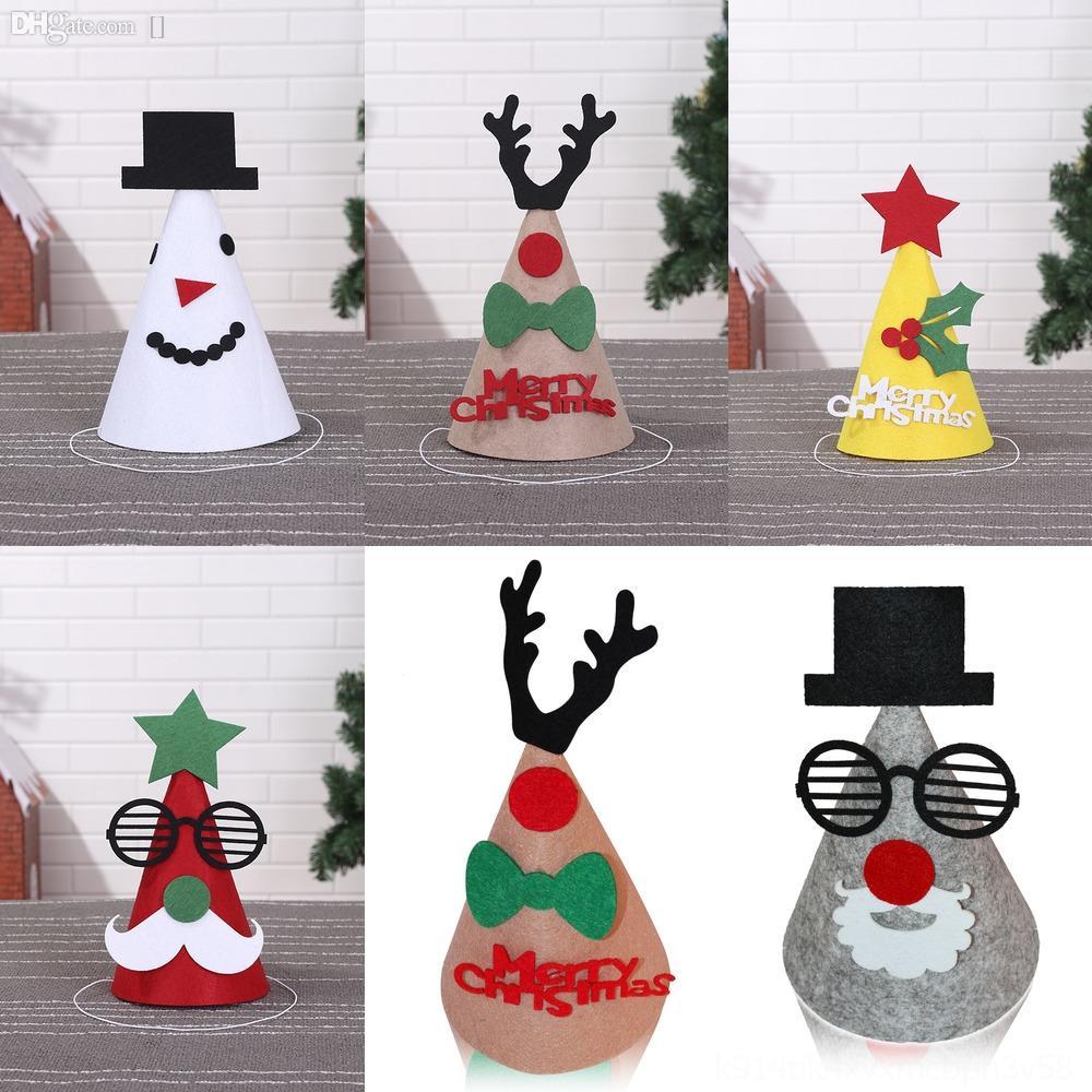uxfYc Jazz Hats Glow Fashion Colorful Flash GiftZj Male And Female Club Handmade hat Party Cap Felt hat Hip Hop Dance Christmas Cap R