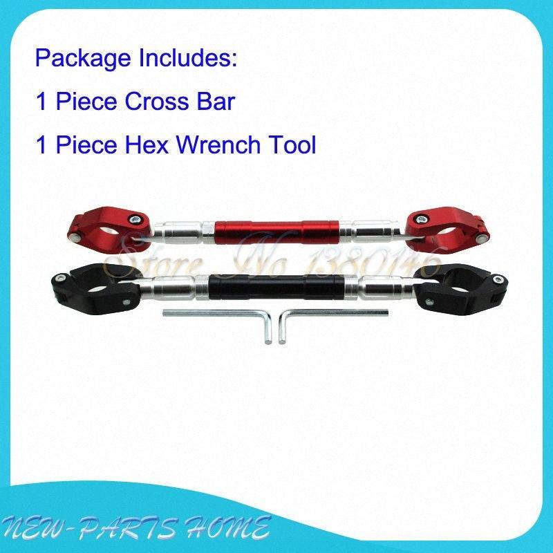 """7/8"""" guiador de direcção ajustável Cruz Bar Para sujeira Pit da motocicleta da bicicleta uKl0 #"""