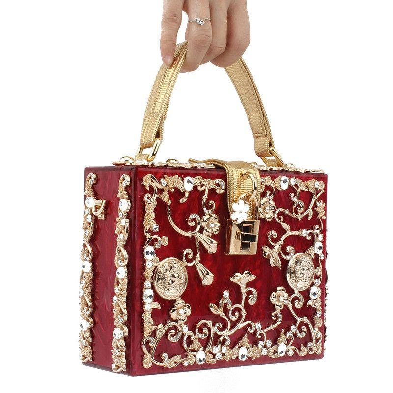 حقائب النساء حقائب رسمية Acrylie حفل زفاف الفاصل مساء تصميم حقائب فاخرة للحقيبة الهاتف المحمول سيدة حزب