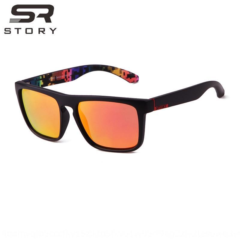 novos esportes estilo europeu STORYsun polarizada equitação vidros de sol skate surf óculos esportes óculos de sol jbqSl