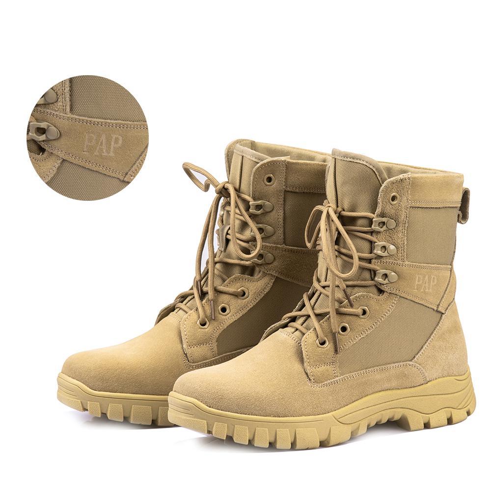 Stokta var ! Su geçirmez İki katmanlı Süet Deri Askeri Tuval İle Yeni Yürüyüş Ayakkabı Sneakers İçin Erkekler Botaş TACTICAS Trekking Botları
