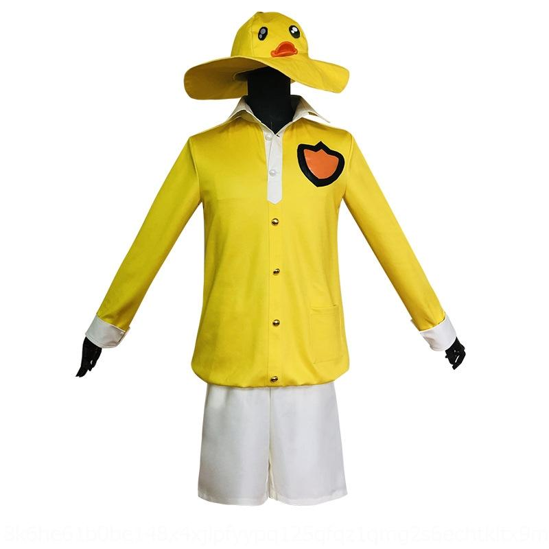 VCelN 2q42f Peace wear wear couple cos eating elite yellow small yellow duck cosplay small chicken duck couple suit clothing clothing