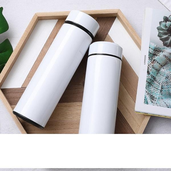 Big Sale !! 12OZ Blank Sublimation Life Cup Diy Sumblation Cup transfert thermique Coated Tasse de café Tumbler eau A08
