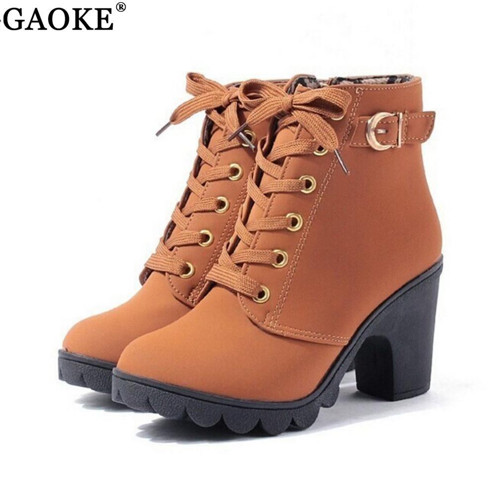 2020 New Autumn Winter Women Boots High