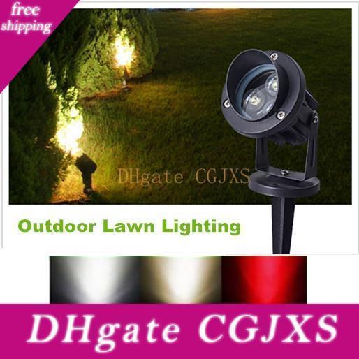 LED-Scheinwerfer Garten-Spot-Licht im Freien wasserdicht Ip65 6w 10w Rgb Landschaft Licht-Wand-Yard-Pfad Teich Rasen Beleuchtung 110v 220v 12v