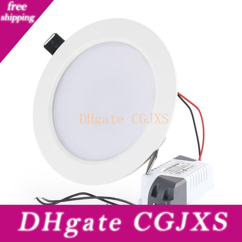 Led 7W 9W Dimmable Downlights 12W 15W 18W 25W LED encastré au plafond Smd Lumière AC85 -265v Ultra mince LED d'éclairage