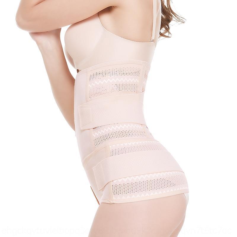 PXsah A0LXE nuovo dopo il parto cintura addominale sezione set traspirante delle nuove donne dopo il parto cesareo vita-legato due pezzi rinforzata body-Shapin
