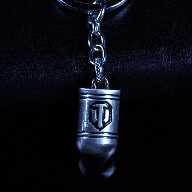 Tanklar hediyeler hediyeler Dünya çevreleyen FbF0J Film Animasyon Oyun kolye yaratıcı hediye metal modeli kolye mermi yaratıcı hediye ac Anahtarlık