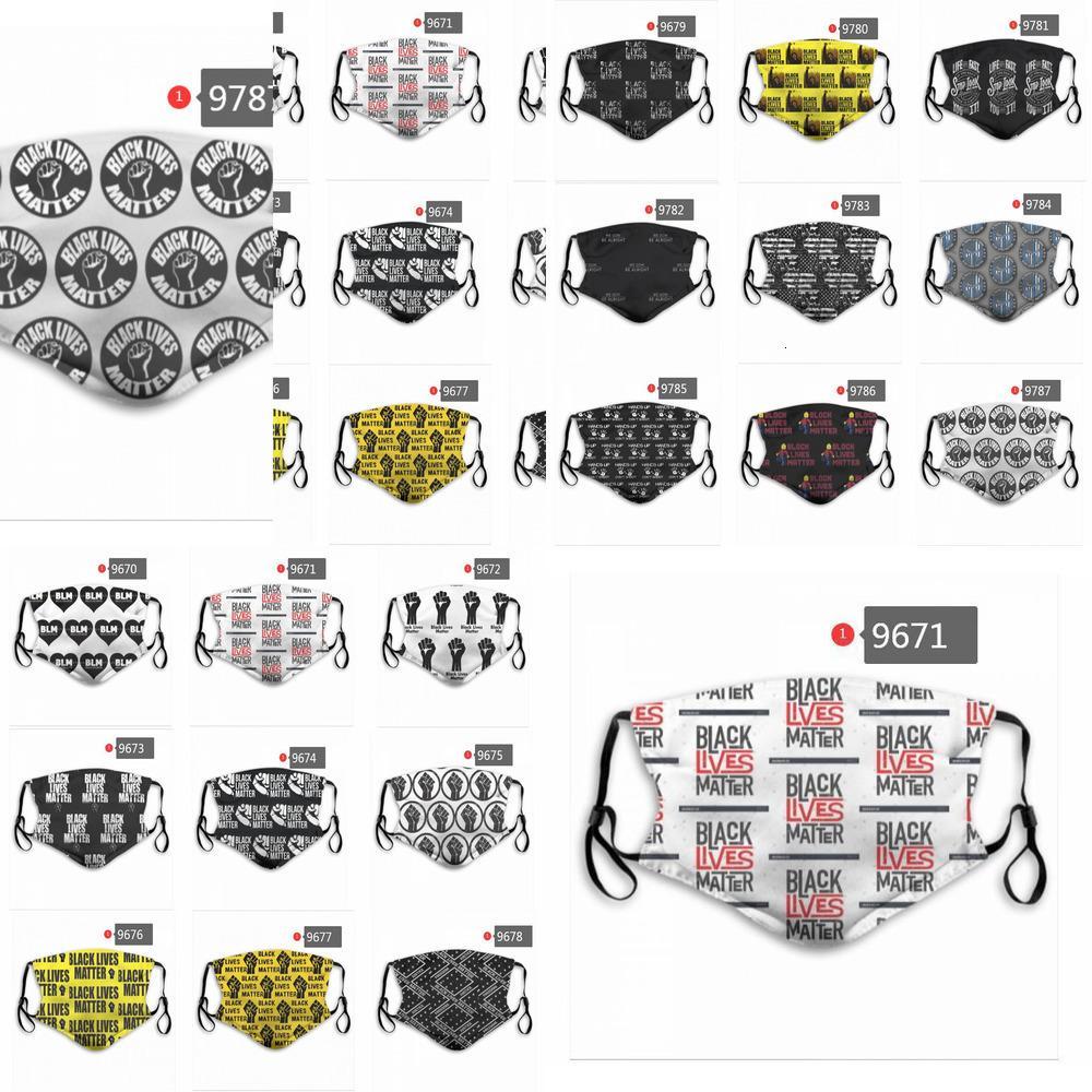 20 envío del nuevo del diseñador y mujeres de algodón Máscaras estadounidense Balck Vidas Materia PM2,5 Mas B60B BLI1