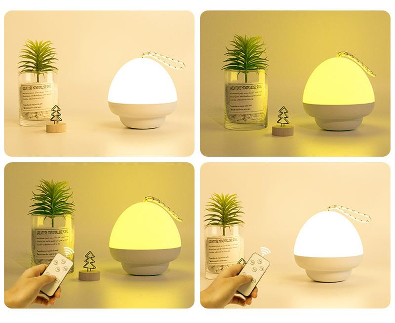 USB Changing LED Night Light Dream Cute Night Lamps for Kids Bedroom Decorate Desk Lights Gift Luminaria