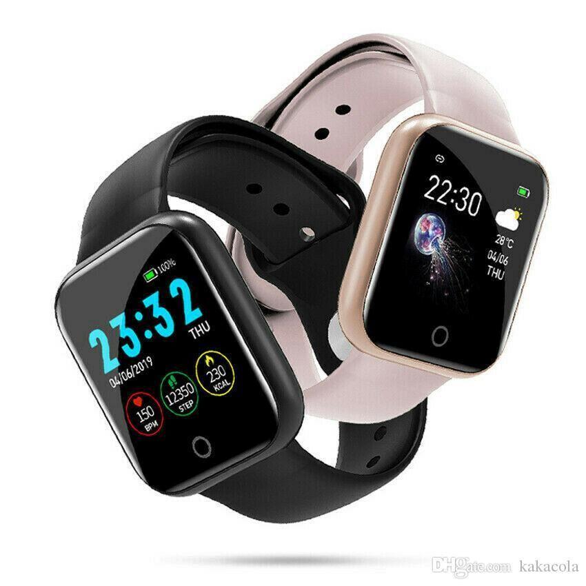 Cgjxs I5 Bt 4 .0 Smart Watch Waterproof Heart Rate Monitor Fitness Tracker Blood Pressure Multiple Sport Mode Smart Watch Wristband