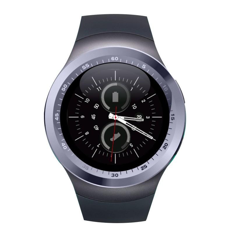 Y1 Smartwatch Bluetooth Smart Watch GSM SIM Support 2G Anruf Bluetooth-Anruf für irgendwelche Mobiltelefonuhren Android-Telefone