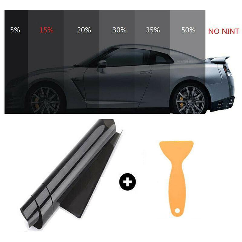 25% VLT Light Car Home Glass Window Window Film e ombra Rotolo di vinile