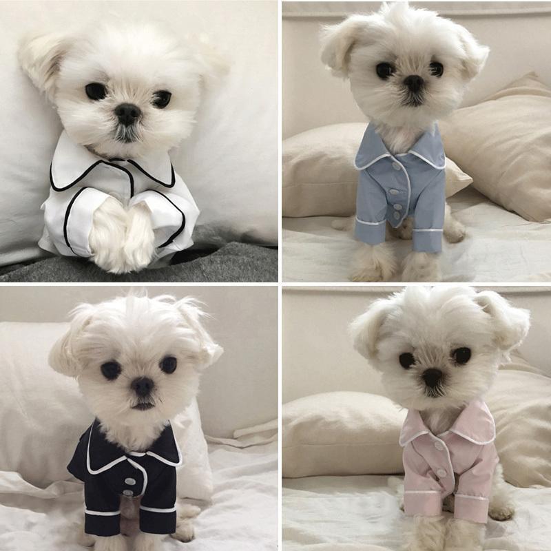 Vêtements pour chien Fashion Dog Pyjama Vêtements pour animaux domestiques pour les petites et moyennes Vêtements Chiens Manteau Yorkshires Chihuahua Bulldogs Jacket