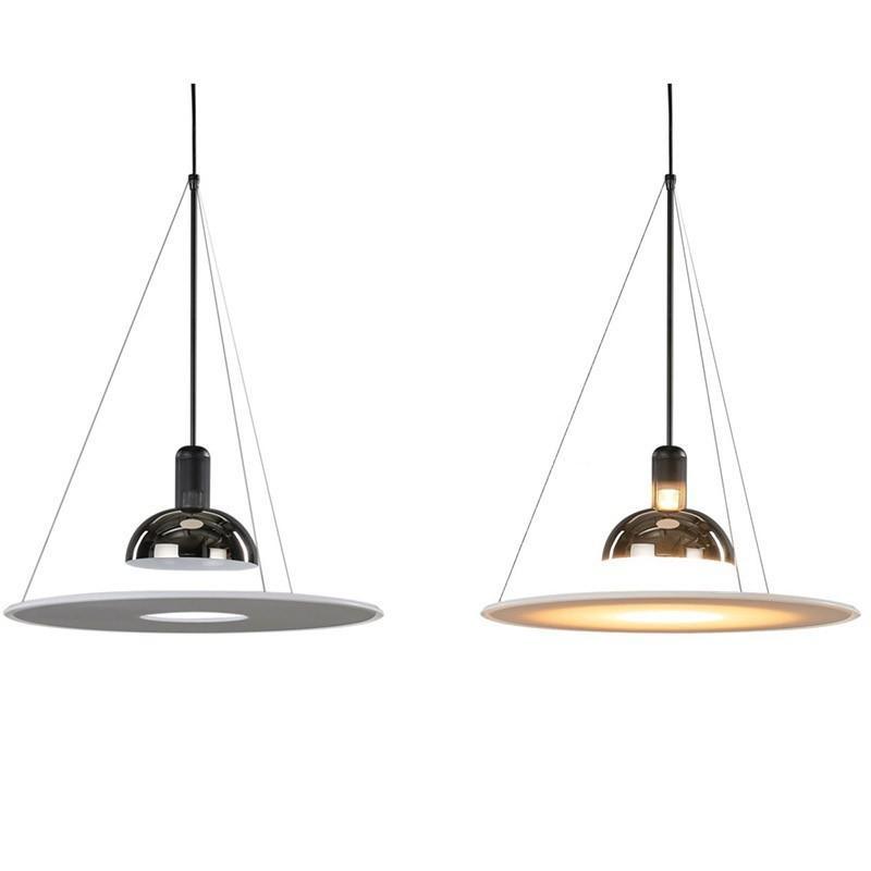 Дизайнер подвесок Италии светильников для столовой Ресторана Гостиных висячего света LED Luxury креативного летающего блюдце Decor Home