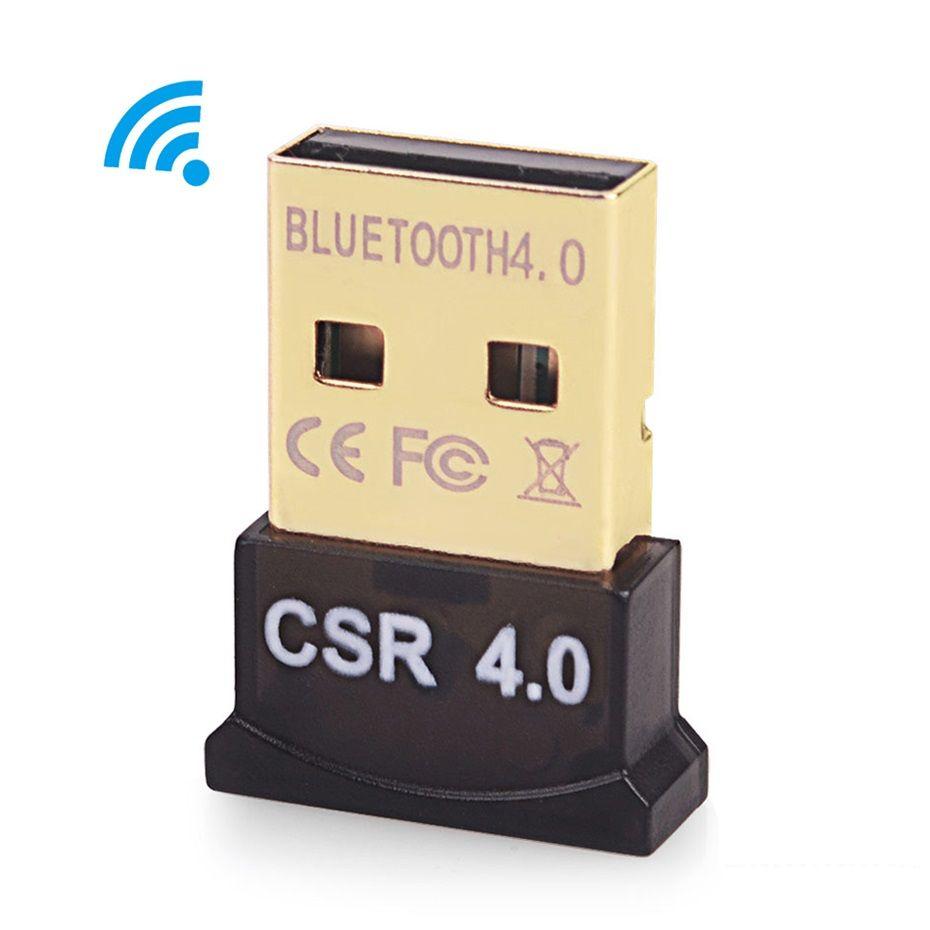 Mini USB Adaptador Bluetooth CSR8510 Dongle para computador PC Mouse Teclado Bluetooth4.0 Transmissor do Receptor de Música