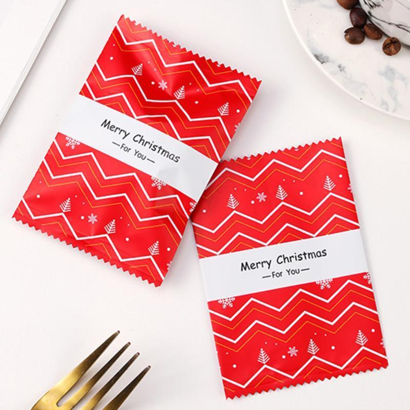 1 Conjunto de caramelo bolsas de embalaje Turrón empaquetado bolsas de almacenamiento de la bolsa para el regalo del paquete de almacenamiento de caramelo