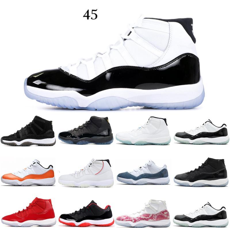 11 11s Los zapatos nuevos zapatos de baloncesto del mens ganar así la leyenda 82 Concord baja azul Platinum Cap Tinte zapatos y vestido de zapatillas de deporte deportes