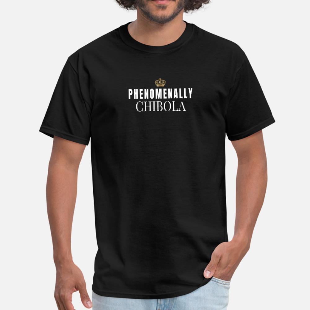 Fenomenalmente Chibola Para hispânica Latinasbirthdays Camiseta Homens Imprimir 100% Algodão O pescoço masculino louco autêntica Primavera Formal shirt