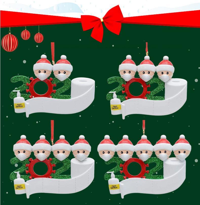 2020 En Yeni Noel Süsleri Noel Süs Noel Kardan Adam Kolye ile Yüz DIY Noel ağacı Aile Partisi Sevimli Hediye Maske