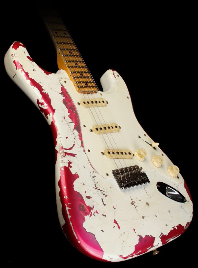Kalite Elektro Gitar Özel Yaşlı / Relic Paramecium Gitar Wh