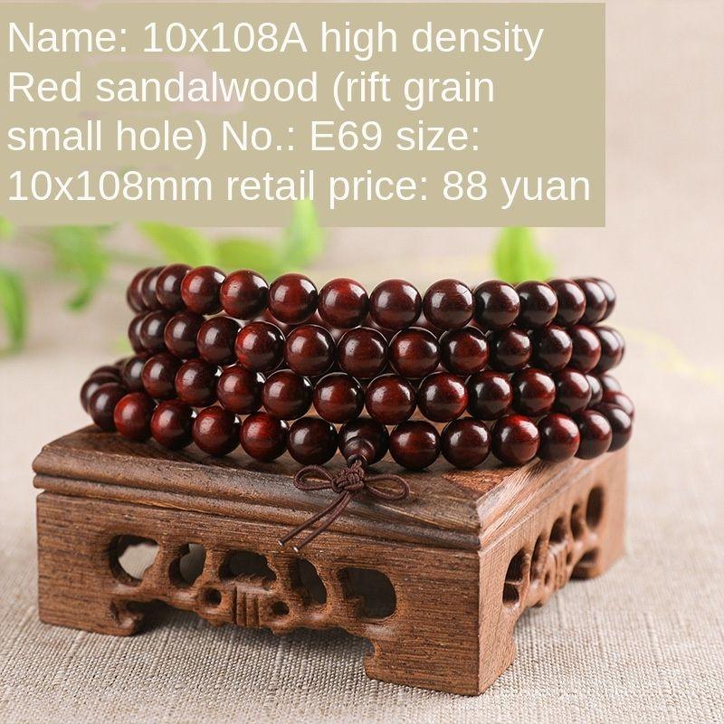 Высокая плотность четки сандалового дерева палисандр 108 Будда деревянные мужские бусы браслет бисер женщин и высокой бросить браслет gdxuW