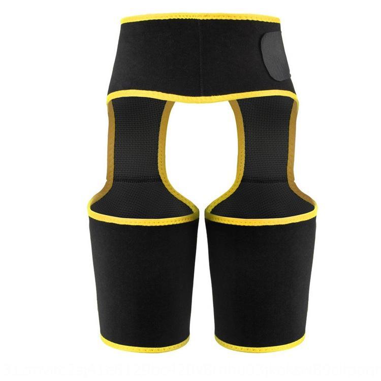 los deportes de la correa de la cadera de elevación de la cintura sudor rNErI kzho7 de tres-en-uno abdomen pantalones del mono de una sola pieza de culturismo polainas de la cintura de la faja corporal faja