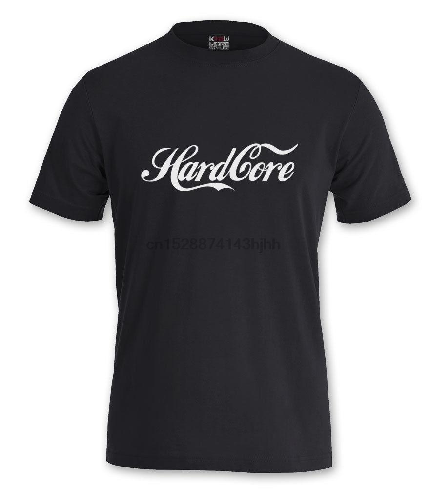 CAMISA NÚCLEO DURO COKESTYLE GABBER GABBA TERROR SPEEDCORE TECHNO HARDSTYLE NEW2018 Moda delgado T-Shirts camiseta de los hombres Camiseta