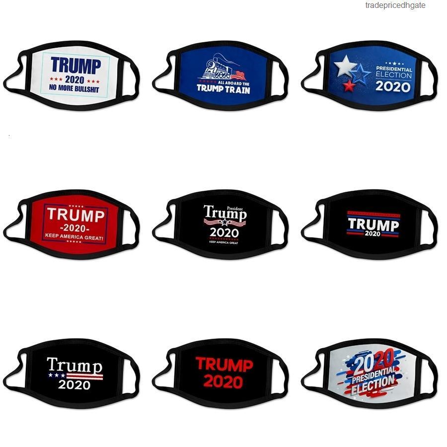 Riutilizzabile tensione Contenitore fabbrica al minuto 95% Filtro 5 Strato antipolvere viso maschera protettiva Designer Trump Bocca Maschere No Valve # 836