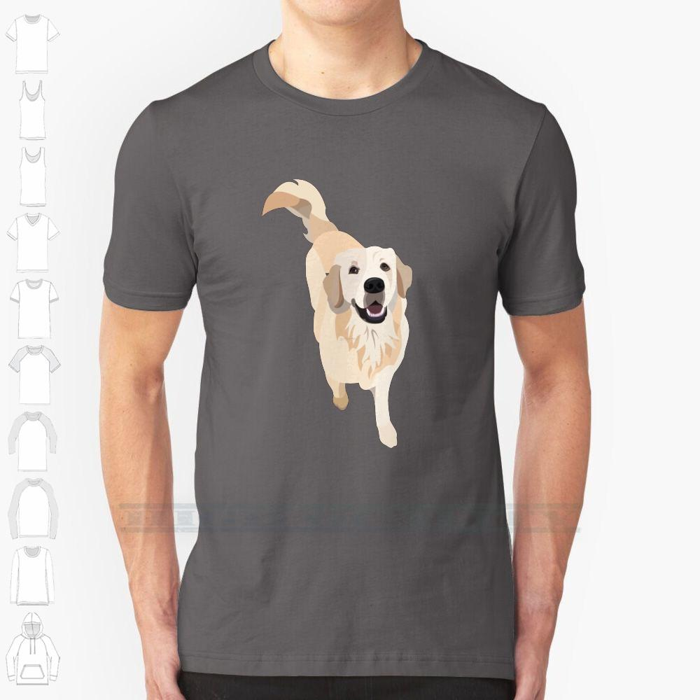 Golden Retriever Doggo Custom Design Imprimer Hommes Femmes Coton Nouveau Tee T-shirt cool Big Taille 6xl Golden Retriever