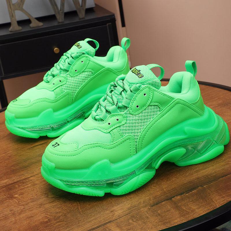 37 кроссовок невидимой воздушной подушки увеличение высоты обувь дизайнер случайных подошвы нескользящей партия мода унисекс дизайнер обувь 36-46 размера