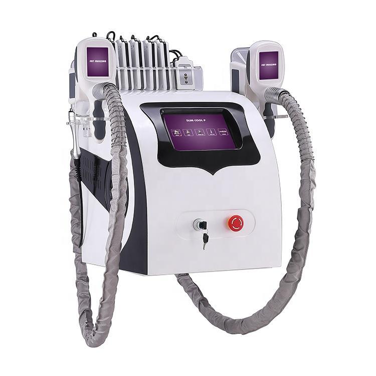 휴대용 한 Cryolipolysis 지방 냉동 슬리밍 기계 냉동 요법 초음파 RF 지방 흡입 리포 레이저 기계 DHL 무료 배송