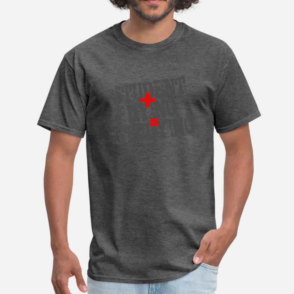 Étudiant plus Dying T-shirt à manches courtes en vrac Hommes S-3XL unique en vrac Cool Spring confortable