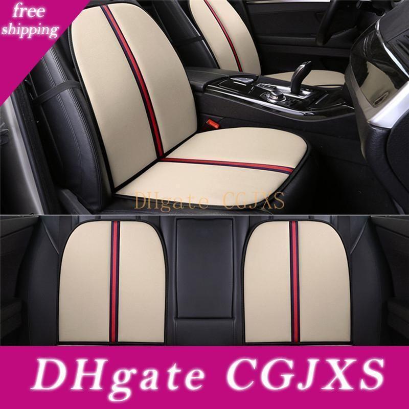 Cubiertas de asientos Cojín de fibra esponja individual Univercial amortiguador del asiento transpirable Cojín de camión de Auto del protector para el frente del coche