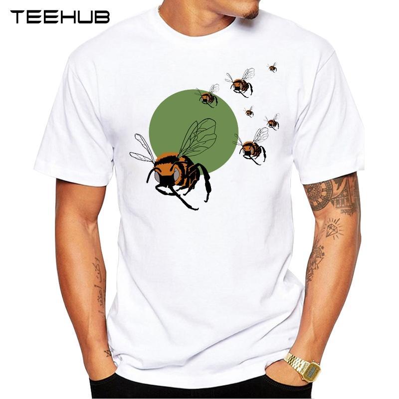 Moda BEE 2019 TEEHUB uomini caldi Vendite e Mosquito T-shirt design fresco Top Hipster Tee