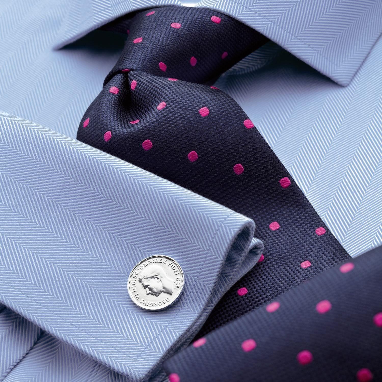 Verbessern marineblau Business Herren Krawatte roter Hochzeit Geschäft Seide und Seide trägt Krawatte Generation