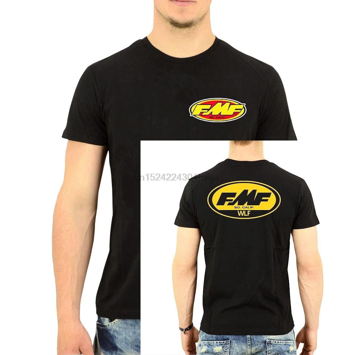 Fmf Racer Wlf Fmf Racer Wlf Racer-T-Shirt der Männer Rundhals Baumwolle Art und Weise kühle Tops Cotton T Shirts Frauen-T-Shirt