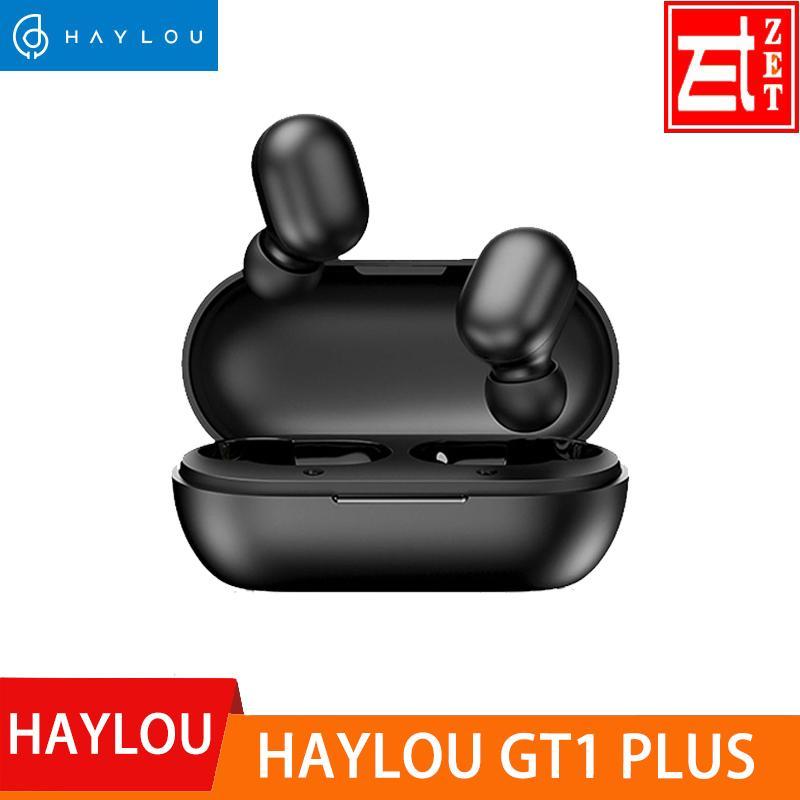 Haylou GT1 Artı APTX 3D Gerçek Ses Kablosuz Kulaklık, Dokunmatik Countrl DSP Gürültü Önleyici Bluetooth Kulaklık KKK 3020 Çip