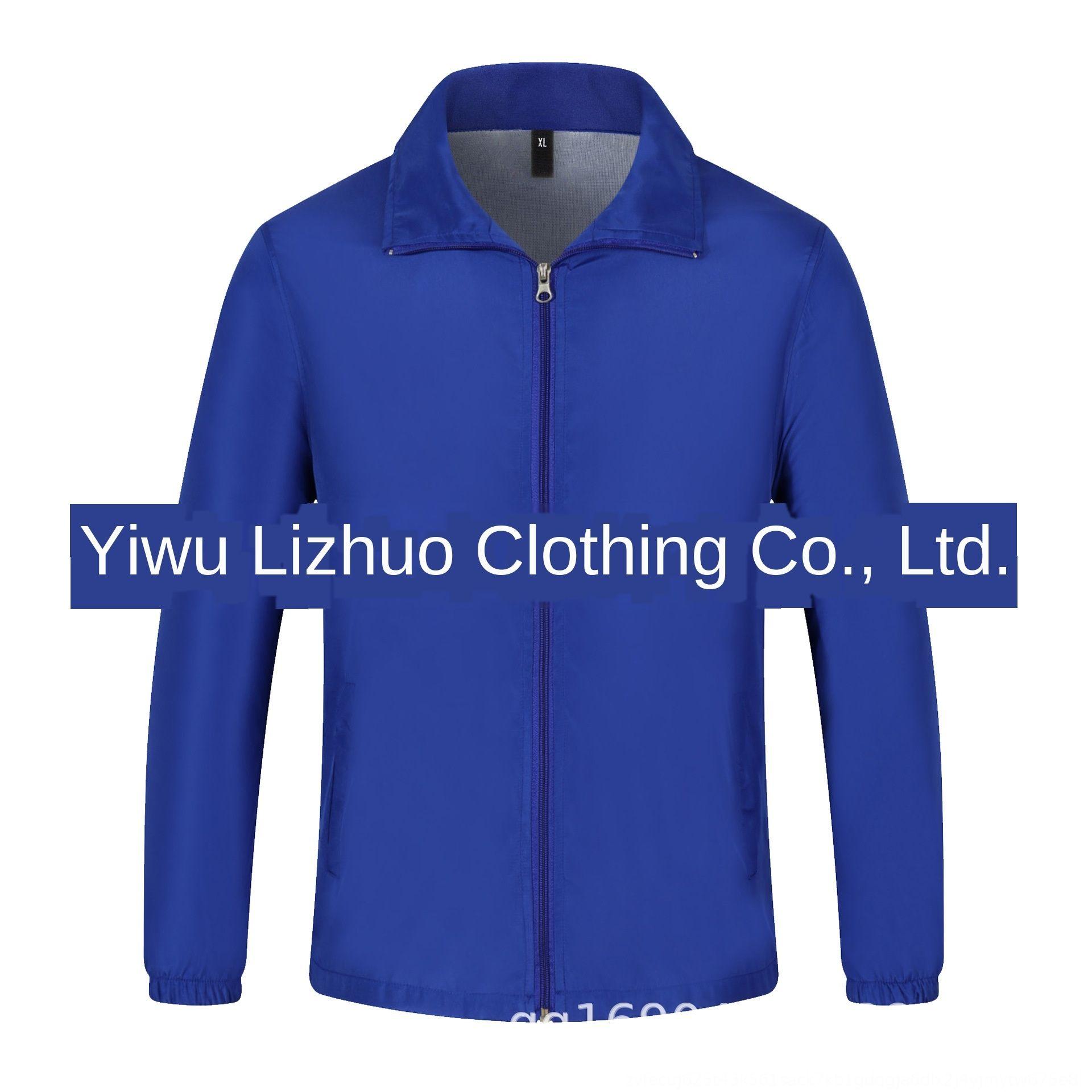 abbigliamento pubblicità gruppo di attività di volontariato del cappotto delle donne Windbreaker cappotto di stampa e la camicia DaSc3 uomo giacca a vento