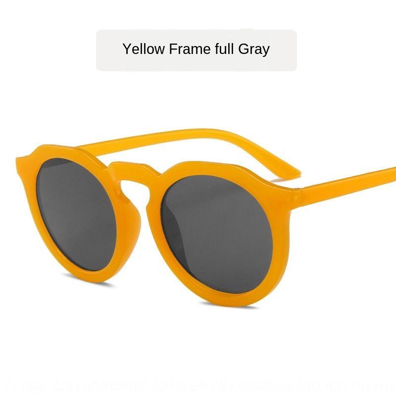 Ins nueva moda caliente de la venta del todo-fósforo gafas gafas de sol de celebridades calle tiro de Internet sol
